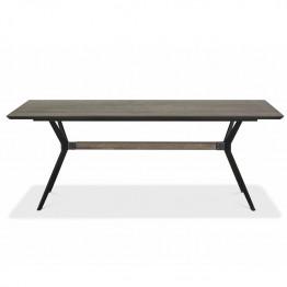 RAW dining table smoked